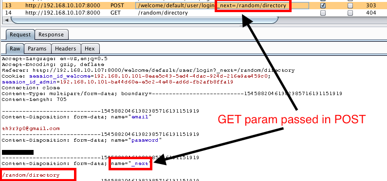 Web2Py Open Redirect Filter Bypass